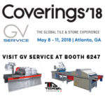 COVERINGS 2018 – GV Service